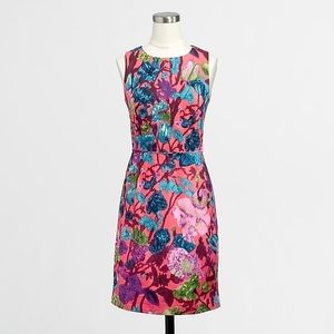 J crew floral shift dress- pockets!!